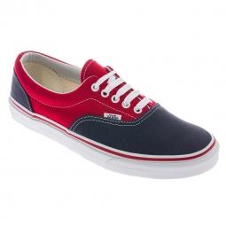 VANS Paire de Chaussures ERA Rouge Gris