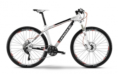 HAIBIKE 2014 Vélo Complet Attack RX 27.5'' XT 3x10V Blanc Noir