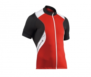 NORTHWAVE Maillot Manches Courtes Zip invisible SONIC Rouge