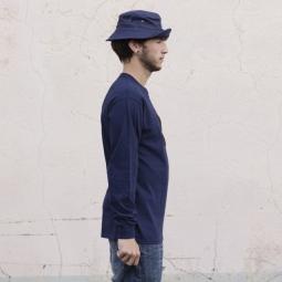 MARIE JADE Tee Shirt Manches Longues PATCH Bleu