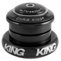 CHRIS KING Jeu de Direction INSET 7 Semi-Intégré / Externe Conique 1´´1/8-1.5´´ NOIR
