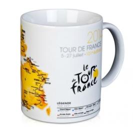 TOUR DE FRANCE  MUG Céramique Blanc