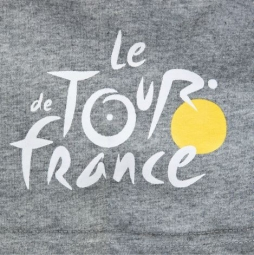 LE TOUR DE FRANCE T-Shirt GRAPHIC TDF Grey