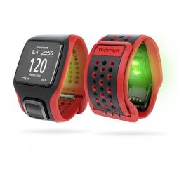Montre GPS Tomtom MULTI-SPORT CARDIO GPS + CCS + AT Noir / Rouge