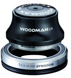 WOODMAN Jeu de Direction Intégré Conique ICR 1-1/8´´ 1.5´´ K XS SPG Comp 20 Noir avec Réducteur