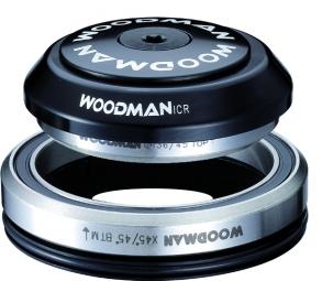 WOODMAN Jeu de Direction AXIS L - ICR Intégré Conique 1.5'' SPG 8mm Noir