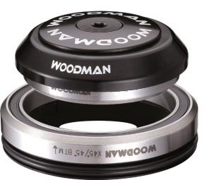 WOODMAN Jeu de Direction Intégré Conique AXIS IC 1-1/8´´ 1.5´´ K SPG Comp 7 avec Réducteur Noir