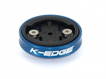 K-EDGE SupportGravity pour GARMIN Edge Bleu