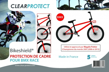CLEARPROTECT Kit Protections Invisibles Cadre BMX