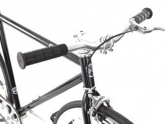 6KU Vélo Complet Fixie NEW YORK Noir/Chrome