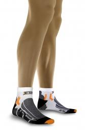 X-SOCKS Paire de chaussettes BIKE ULTRALIGHT Blanc Noir