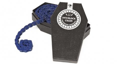 SHADOW Chaine demi maillon 1/8 INTERLOCK V2 Bleu