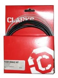 CLARKS Kit Complet Cable frein Compatible Campagnolo Noir