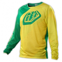 TROY LEE DESIGNS Maillot ENFANTS SPRINT TURISMO Jaune Vert