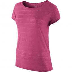 NIKE T-shirt DRI-FIT Rose Femme