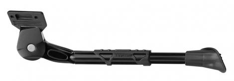 GNK Béquille Latérale Réglable URSUS KING Vélo 26-28´´ Ecart 40mm Alu Noir