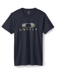 OAKLEY T-Shirt CAMO NEST Noir