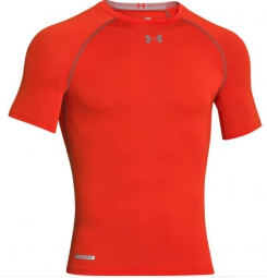 UNDER ARMOUR T-Shirt Manches courtes Compression HEATGEAR SONIC