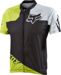 FOX Maillot manches Courtes LIVEWIRE RACE Acid/Green