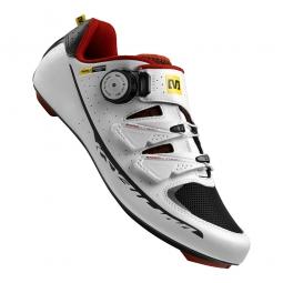 Chaussures Route Mavic KSYRIUM PRO 2015 Blanc Rouge