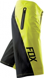 FOX Short ATTACK Q4 Cold Weather Jaune/Noir