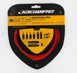 JAGWIRE Kit Câbles et gaines de Frein Mountain Pro Ripcord Rouge