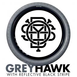 ODYSSEY Pneu CHASE HAWK ´Grey Hawk Reflective Black´ Gris