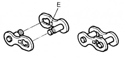 KMC Attache Rapide CL-571 Single Speed/BMX 3/32 pour chaine 7.1mm
