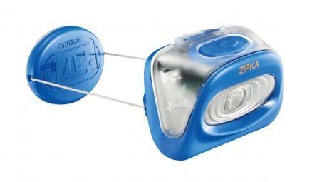 PETZL Lampe Frontale ZIPKA Bleu