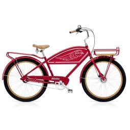 ELECTRA Beach Cruiser DELIVERY 3I Red