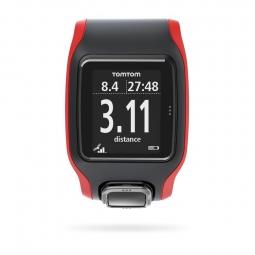 Montre GPS Tomtom Runner Cardio Noir / Rouge