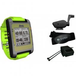 BRYTON Montre GPS AMIS S630 T Multi sport- Triatlhon + Ceinture cardiaque et capteur combo
