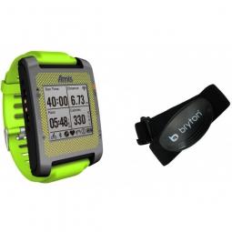 BRYTON Montre GPS AMIS S630 H Multi sport- Triatlhon + Ceinture cardiaque