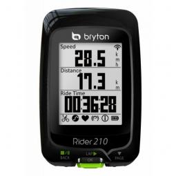 BRYTON Compteur GPS RIDER 210H + Ceinture cardiaque