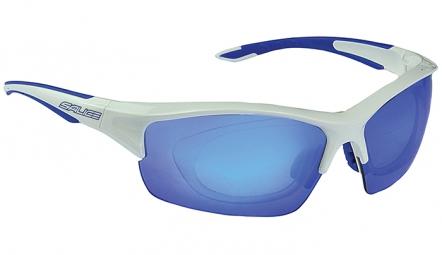 SALICE Paire de Lunettes 838RW Blanc Bleu