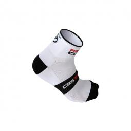 CASTELLI Paire de Chaussettes ROSSO CORSA 6 Blanc