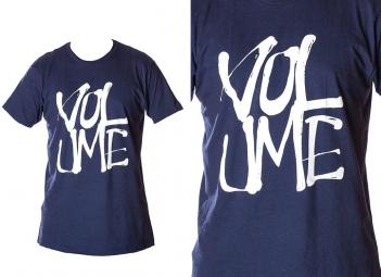 VOLUME T-Shirt STACKED Marine