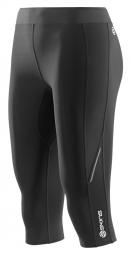 SKINS Collant Thermal 3/4 Femme A200 Noir