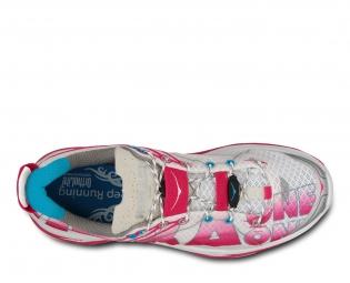 HOKA Chaussures HUAKA Rose Blanc Femme