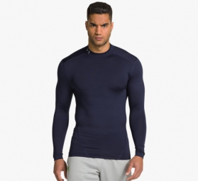 UNDER ARMOUR Baselayer COLDGEAR EVO Bleu Marine