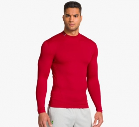 UNDER ARMOUR Baselayer COLDGEAR EVO Rouge