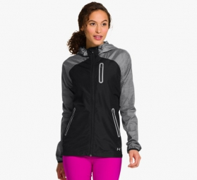 UNDER ARMOUR Veste Femme QUALIFIER Noir