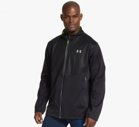 UNDER ARMOUR Veste COLDGEAR INFRARED CHROME Noir