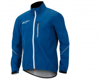ALPINESTARS VESTE DESCENDER COUPE-VENT BLEU
