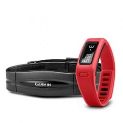 GARMIN Bracelet d´activité VIVOFIT +capteur cardiaque Rouge