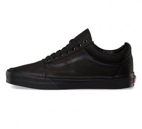 Chaussures Vans U OLD SKOOL Noir