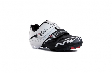 Chaussures VTT Northwave SPIKE EVO 2015 blanc-noir