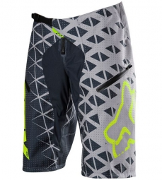 FOX Short DEMO DH Gris/Jaune