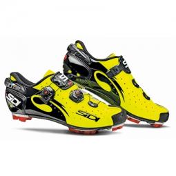 Chaussures VTT Sidi Drako 2015 jaune fluo - noir