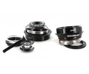 WOODMAN Jeu de Direction 1.5´´ AXIS N SOLUTION SPG Semi-Intégré / Externe 49.7mm Noir